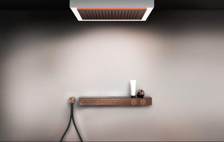Luxusní sprchová souprava Hi-Fi a hlavová sprcha tropický déšť Afilo