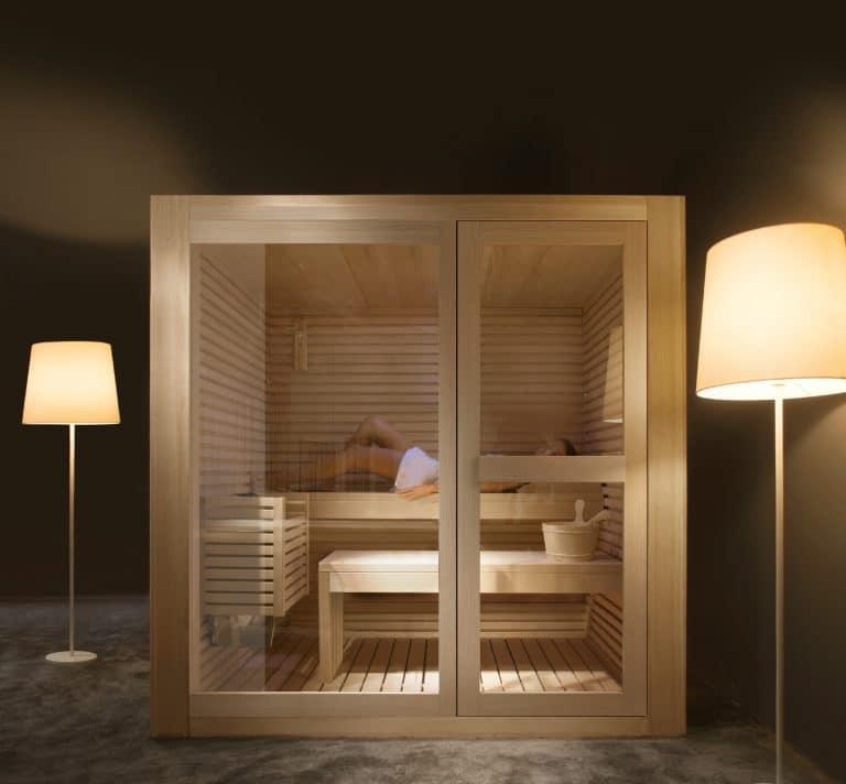 Kompaktní sauna do interiéru Treesse