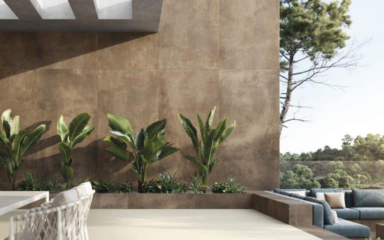 Urbatek - Oxide Brown 120x250, 120x120, Stuc Beige Texture 120x120 velkoformát largeformat tile