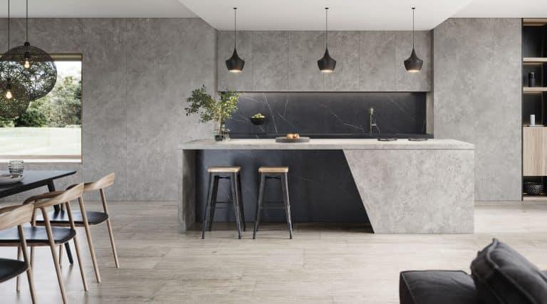 Urbatek - Velkoformát Fiori di Bosco instalace v kuchyni