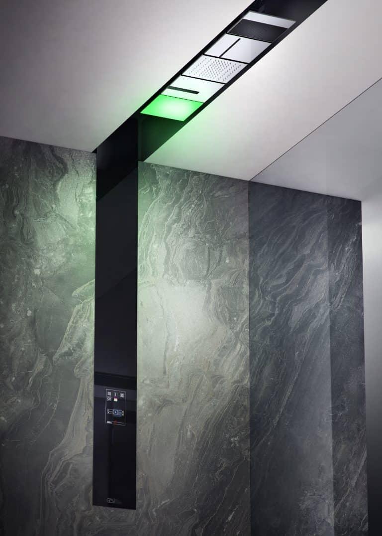 Luxusní sprcha s osvětlením, hudbou, dotykový ovladač